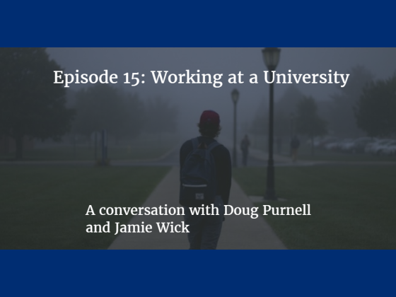Episode 15: Working at a University