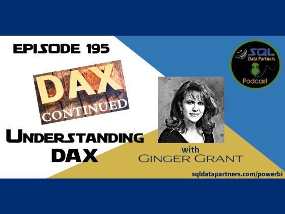 Episode 195: Understanding DAX