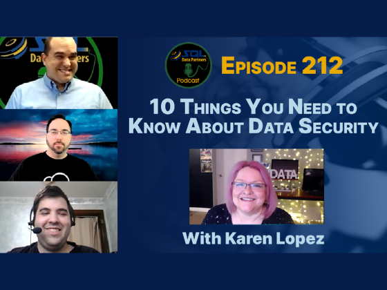 Episode 212: 10 Things You Need to Know About Data Security