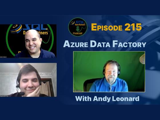 Episode 215: Azure Data Factory