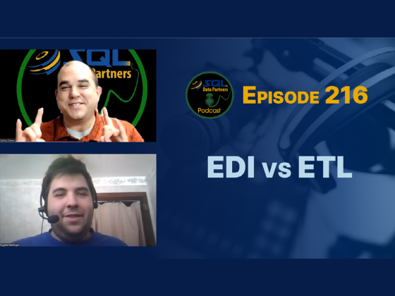 Episode 216: EDI vs ETL